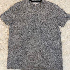 CALIBRATE Men's Grey Short Sleeve Tee